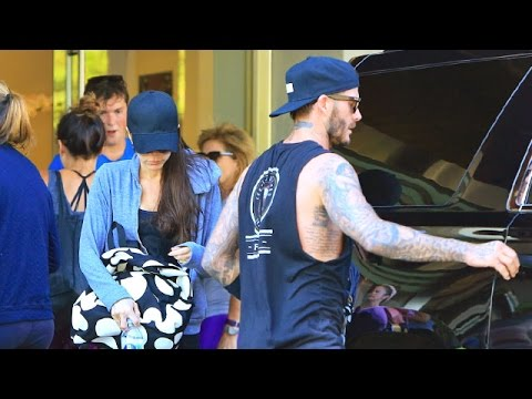David Beckham Is The Perfect Gentleman For Victoria At Soul Cycle