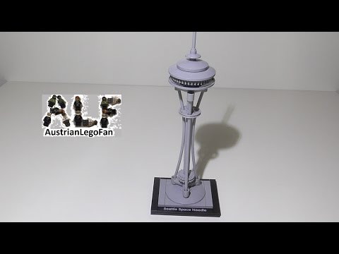 Lego Architecture 21003 Seattle Space Needle - Lego Speed Build Review