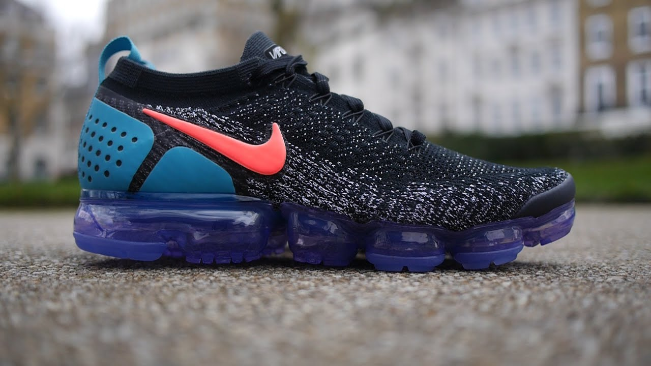 6012c592e549 Air Vapormax Flyknit 2 OG Quick Look   On Feet (Black
