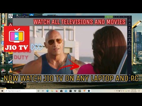 """""""How To Watch JIO TV On Any Laptop/pc"""""""