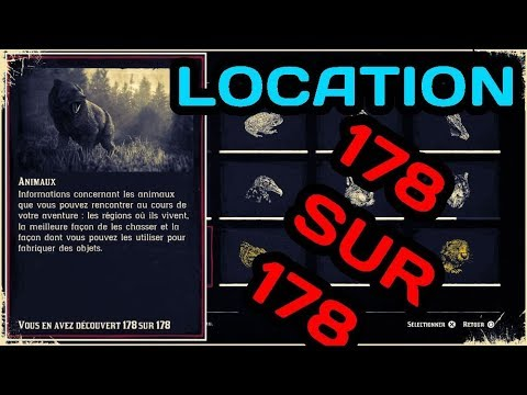 Red Dead Redemption 2 Localization Animal Animal Encyclopedy 178178 Zoologist Trophy