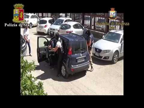 Arresto ceceno a Bari - Polizia e Gdf