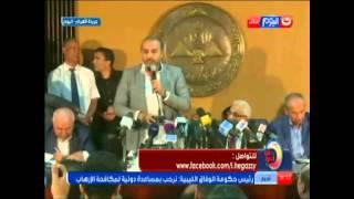 فيديو..إبراهيم حجازي عن أزمة «الصحفيين»: «هو في حرية صحافة زي اليومين دول»