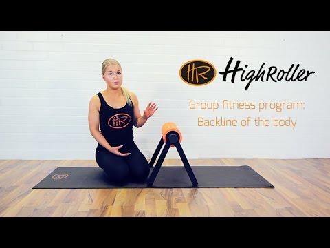 HighRoller® - Group Fitness Program: Backline of the Body