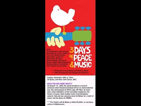 3 DAYS OF PEACE AND MUSIC