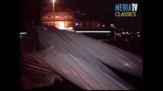 MediaTV Classics (1995): Dak waait van restaurant Parkkade Rotterdam