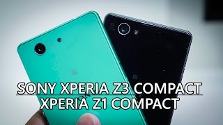 Sony Xperia Z3 Compact vs Xperia Z1 Compact - Quick Look