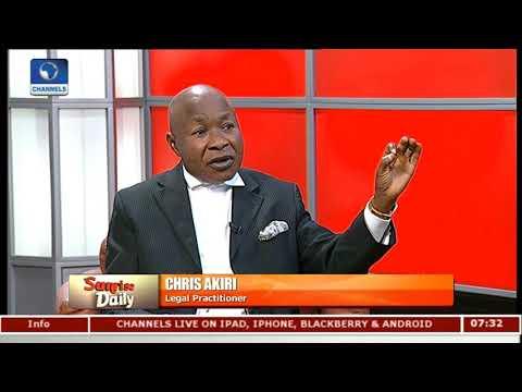 NGO Bill: FG Trying To Governmentalise NGOs - Lawyer  Sunrise Daily 