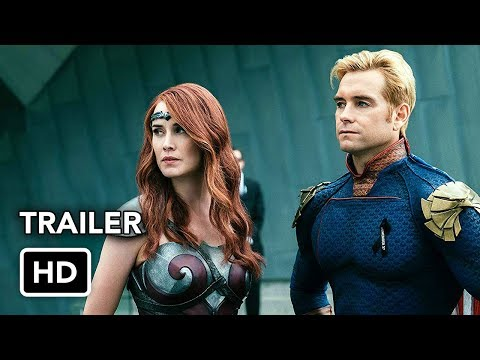 The Boys (Amazon) Final Trailer HD - Superhero series
