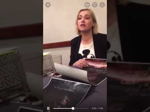 Eliza Taylor on Bellarke 2018 Season 5 At Conageddon