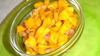 Instant Mango Chutney -aam Ki Chutney - Mango Salsa