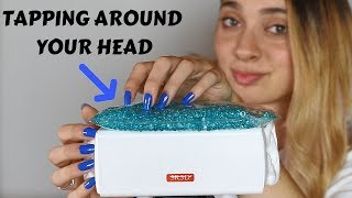 ASMR TAPPING ON and AROUND YOUR HEAD | No Talking