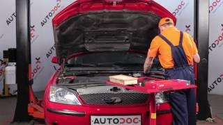 Nybegynder video vejledning til de mest almindelige Ford Mondeo b5y reparationer