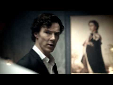 """BBC Sherlock sings """"Staying Alive"""""""
