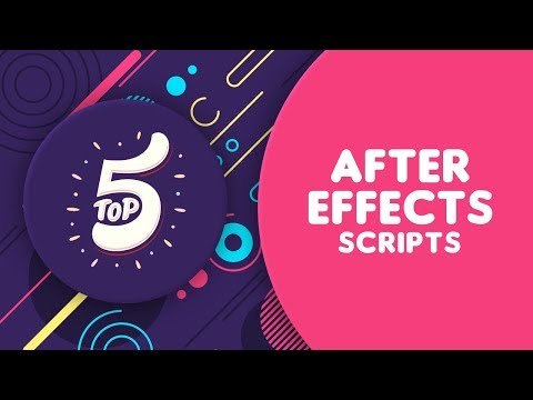 Top 5 After Effects Scripts to SPEED UP your Workflow 2018 NEW! - After Effects Tutorial