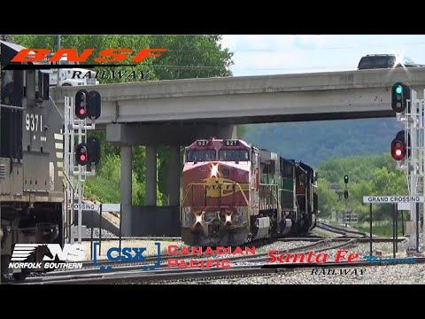 Railfanning on the BNSF CP in La Crosse, WI
