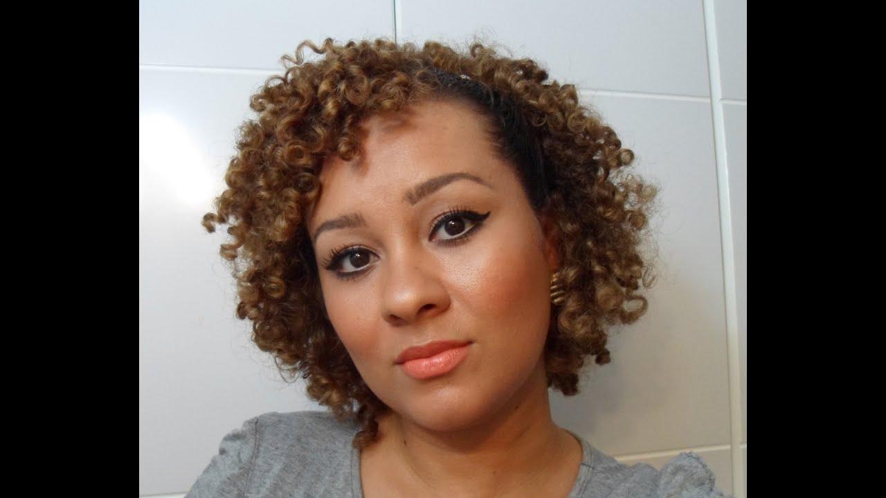 Penteado infantil para cabelo cacheado - MundodasTribos