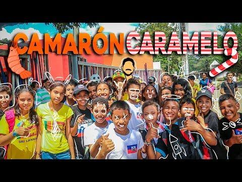 CAMARÓN CARAMELO CHALLENGE  | PREGUNTAS EN ESCUELAS  | LUIS VEGA