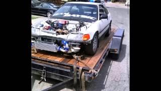 B18b Ls turbo crx street2track
