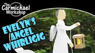 Evelyn's Angel Of Hope Whirligig