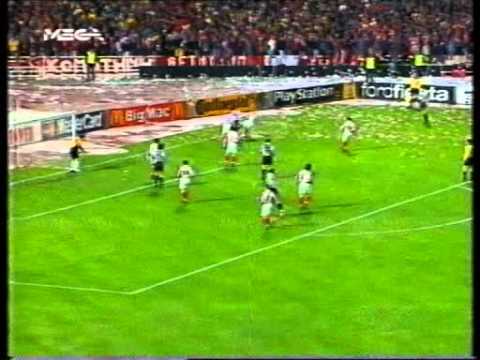1998 99 Olympiacos Juventus 1 1 Cl Full Match Part 1