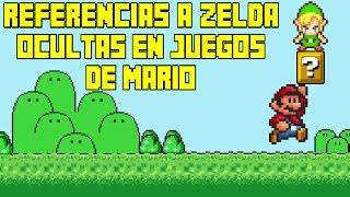 Referencias a Zelda Ocultas en Juegos de Mario - Pepe el Mago