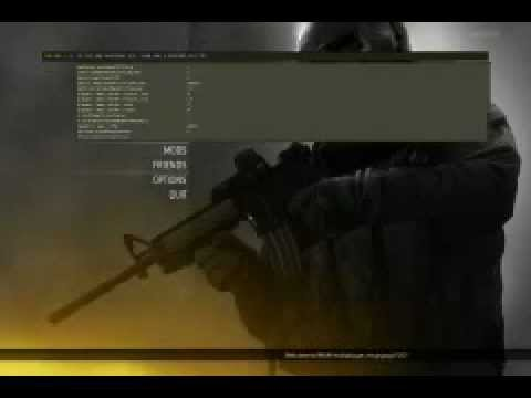mw2 console commands