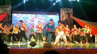 Abhinand as aladdin in Shiamak's Confidance show