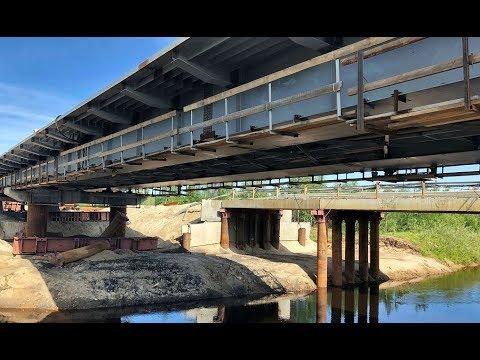 Половина дороги Салехард-Надым уже готова: осталось построить всего девять мостов из 58