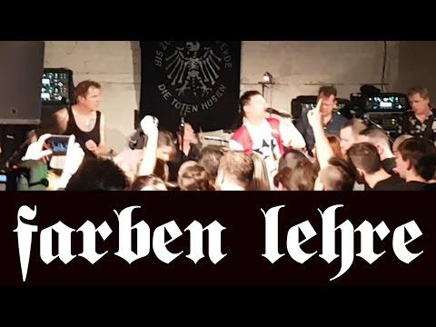 FARBEN LEHRE: Wojtek Wojda gościnnie na koncercie Die Toten Hosen, Bunkier, Poznań, 24.04.2017