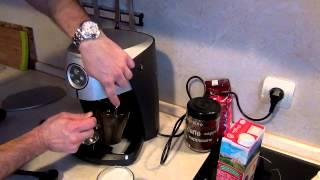 (ч.2)Приготовление латте макиаато,эспрессо