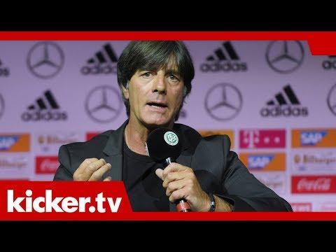 """""""Eine gute Mischung"""": Löws Kader mit Petersen statt Wagner   kicker.tv"""