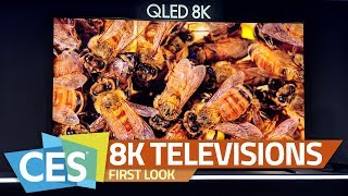 Sony Z9G, Samsung Q900, LG 88-inch 8K OLED and NanoCell TVs | The 8K Televisions of CES 2019