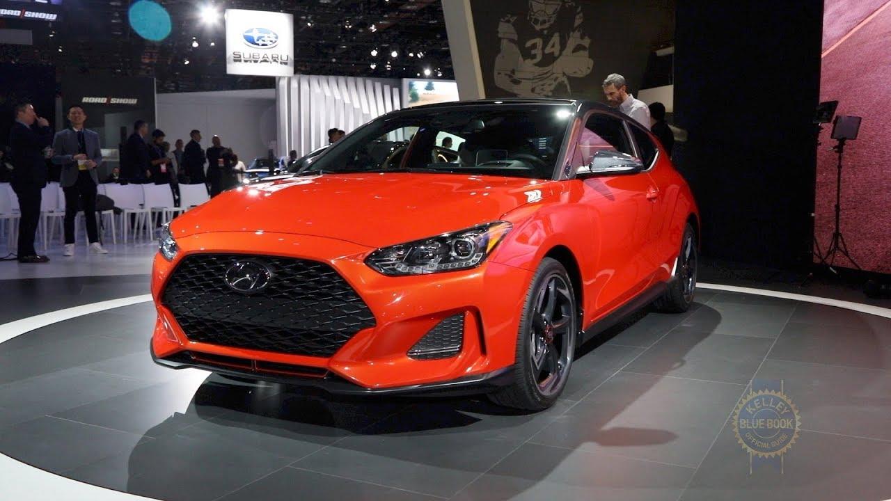 2019 Hyundai Veloster 2018 Detroit Auto Show