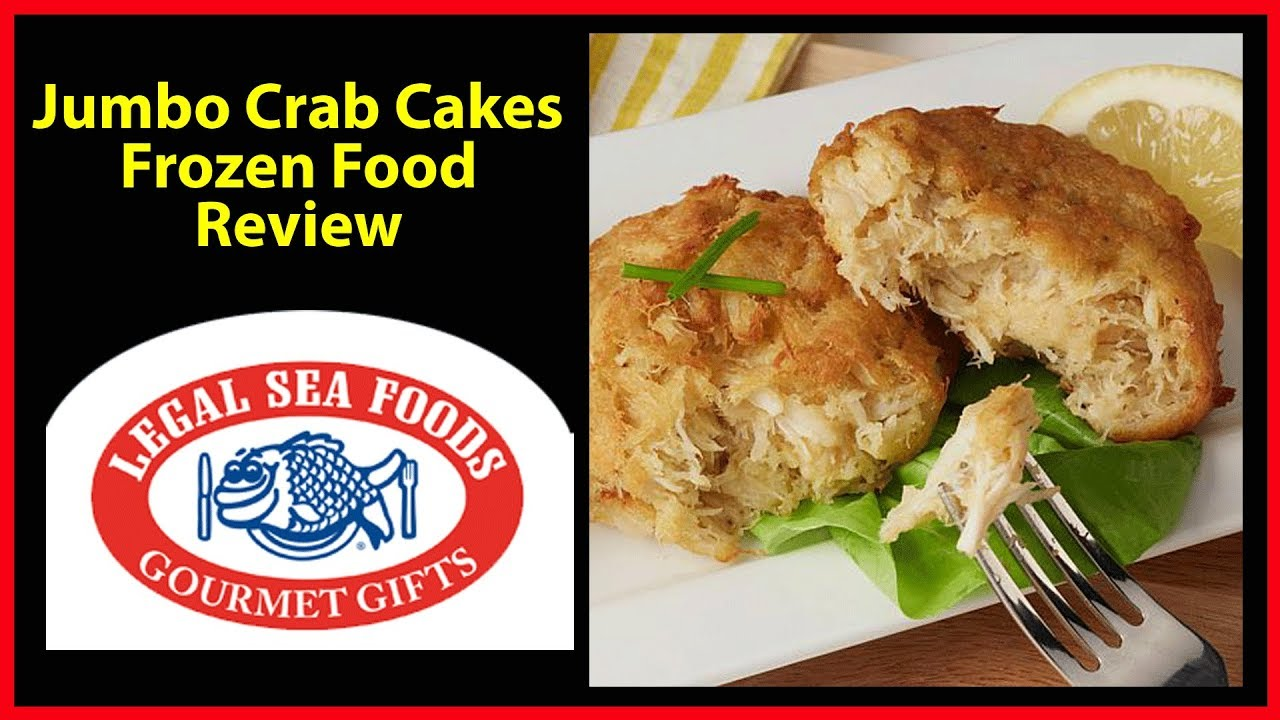 Frozen Food Review Legal Seafood Jumbo Crab Cakes