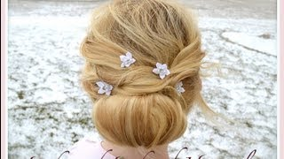 Beautiful Hairstyle for short & thin Hair