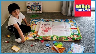 Aqua Doodle Water Mat - Toy Review by Willy's Toys
