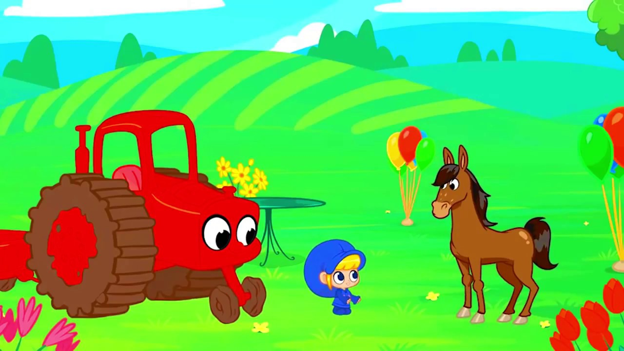 Download My Red Tractor My Magic Pet Morphle