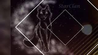 Коты-воители. Песня-Земля в илюминатре(зелёная трава)