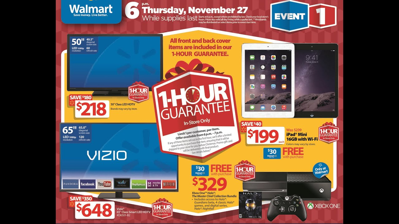 Black Friday 2014 Walmart Flyers - YouTube