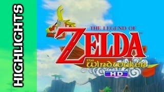 HIGHLIGHTS: Let's Play Legend of Zelda: Wind Waker HD