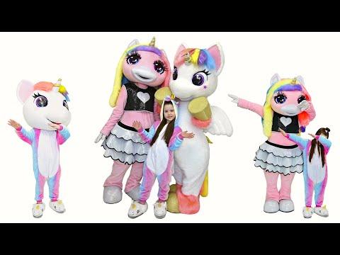 Януля и веселая история про Единорогов Pretend Play Unicorn