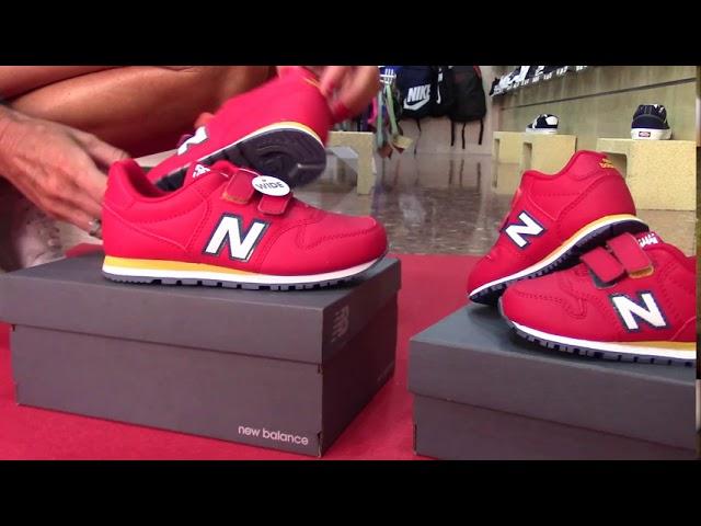 new balance niño rojo