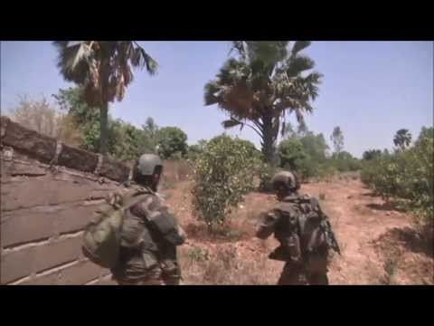 Tribute to French soldiers - Mali War