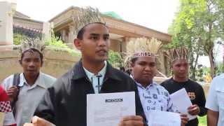 OA Kelantan 17 Pos, Serah Memo ke PM Bantah Projek Tanpa Izin