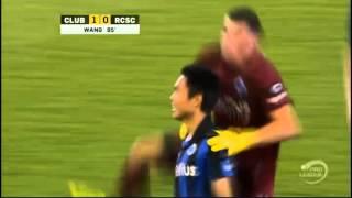 Shangyuan Wang | First goal for Club Brugge | Club Brugge - Charleroi