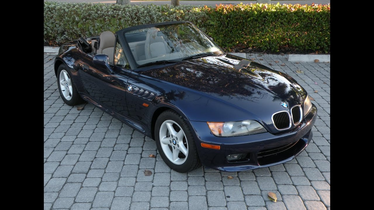 1997 BMW Z3 28i Convertible for sale in FORT MYERS FL  YouTube