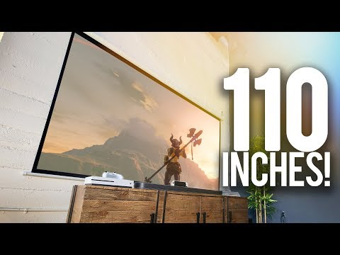 110 inches of Nintendo Switch!