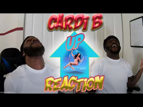 Cardi B - Up [Official Music Video] REACTION