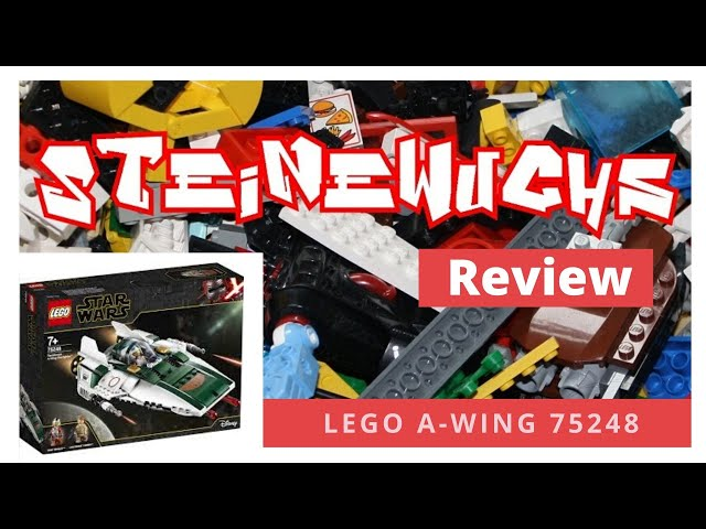 Review - Lego A-Wing 75248